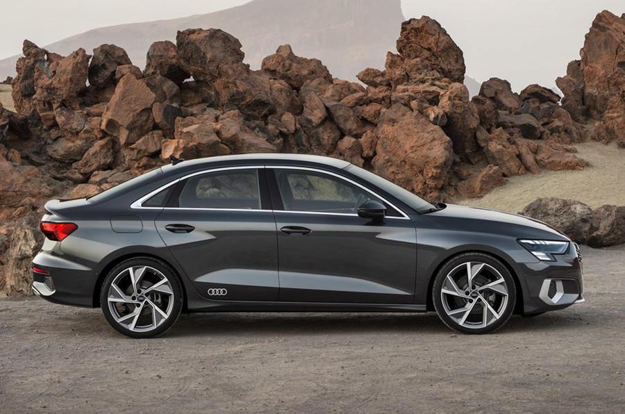 Bound 2021 Audi A3 sedan revealed