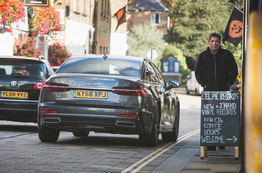 Audi A6 2018 long-term review - hero rear