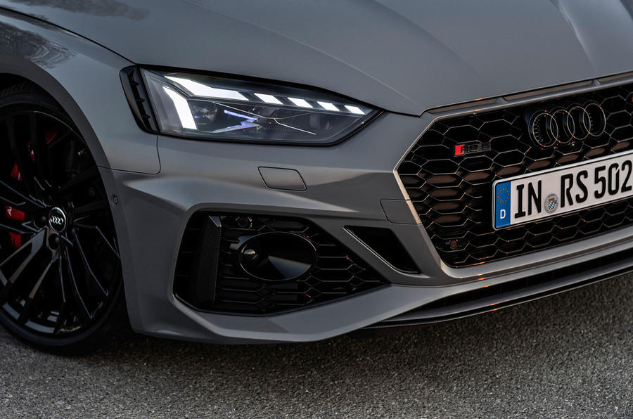 Audi RS5 Coupé 2020 first drive review - front bumper