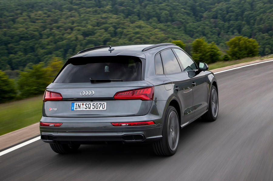 Audi SQ5 2019 first drive review - hero rear