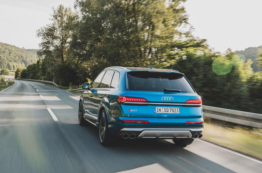 Audi SQ7 2020 : premier bilan de conduite - le héros à l'arrière