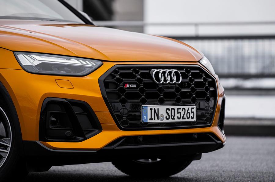 3 Audi SQ5 2021 premier nez d'examen de conduite