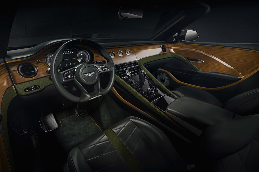 Bentley Bacalar Clerkenwell 2020 - interior