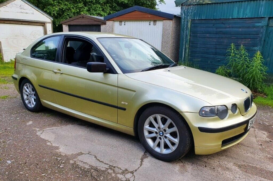 BMW 320td Compact - front