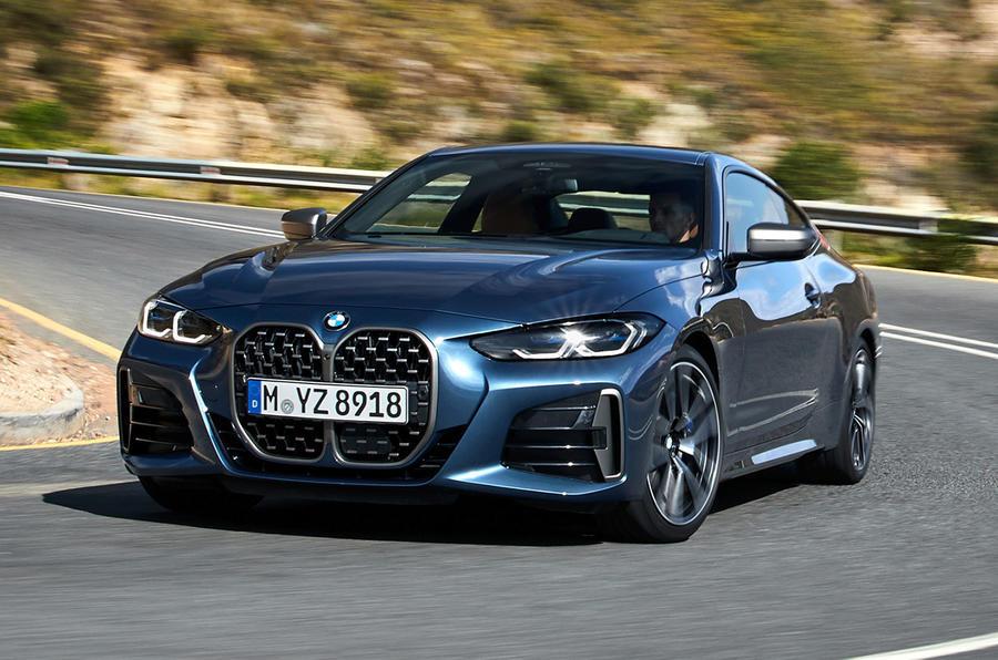 BMW 4 Series 2020 - hero front