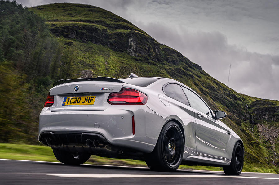 BMW M2 CS 2020 UK first drive review - hero rear