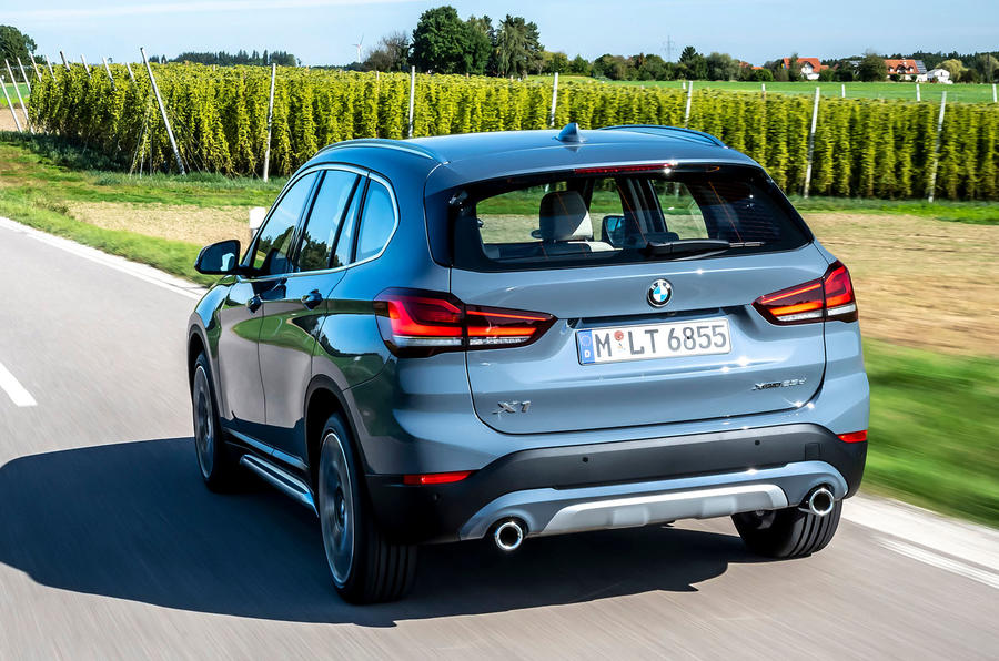 BMW X1 25d 2019 first drive review - hero rear