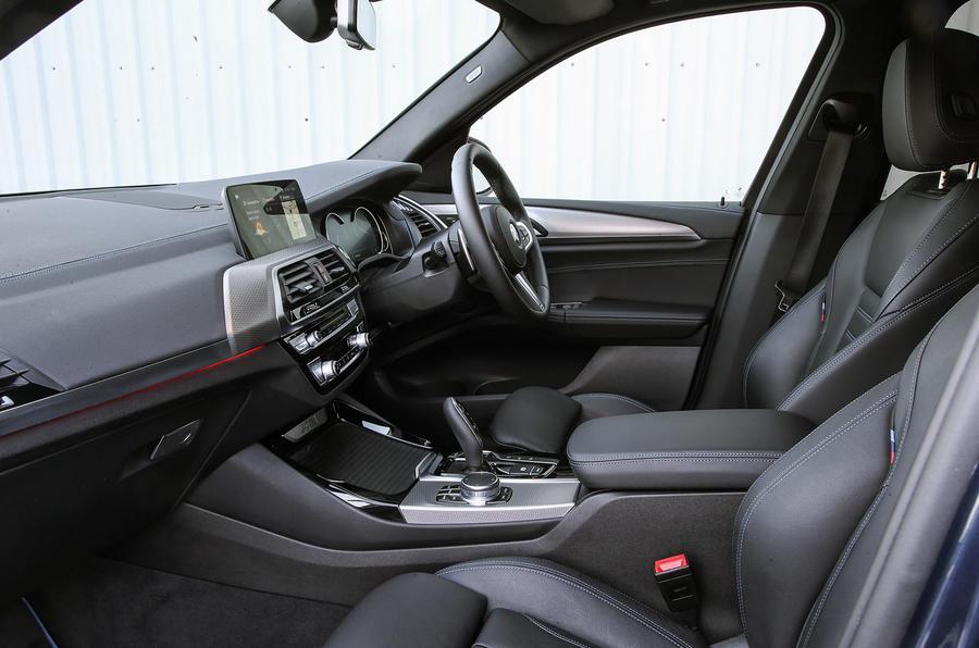 BMW X3 xDrive30e 2020 : premier examen de conduite au Royaume-Uni - cabine