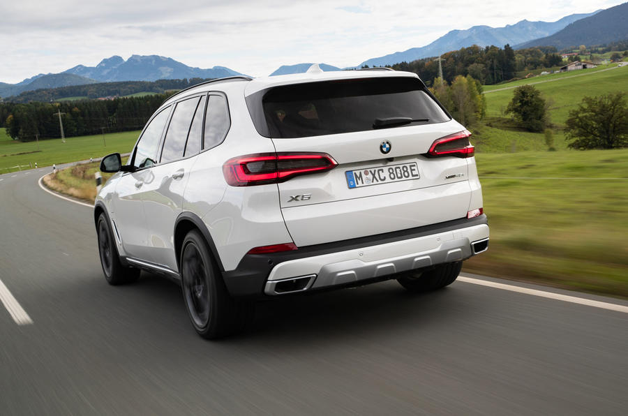 BMW X5 xDrive 45e 2019 first drive review - hero rear