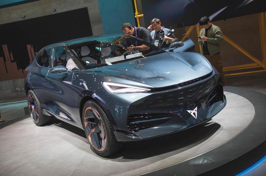Cupra Tavascan concept - static front