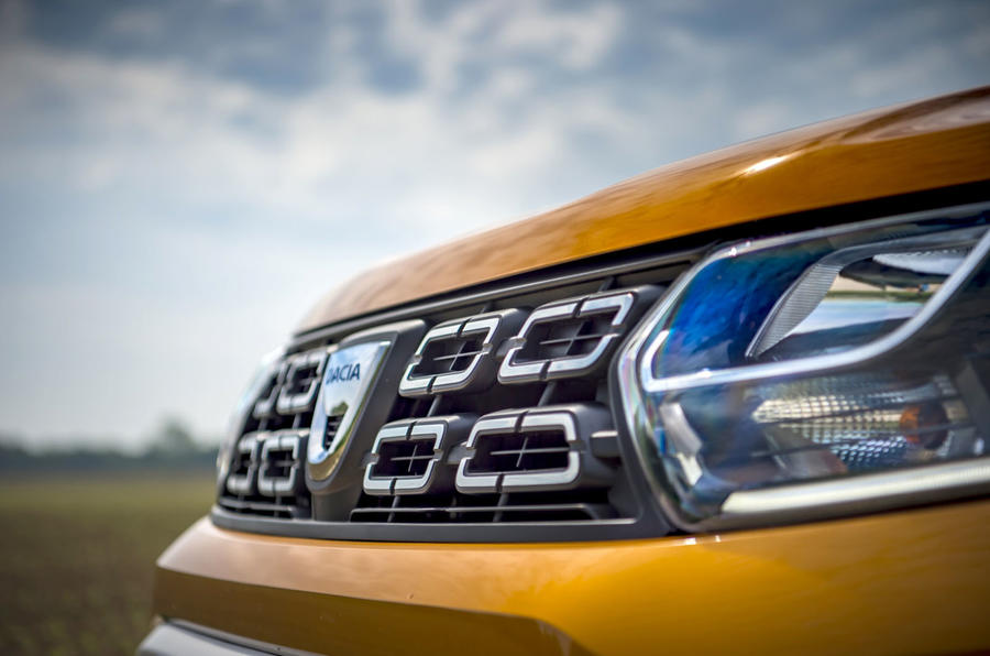 Dacia Duster 2018 first drive review front end