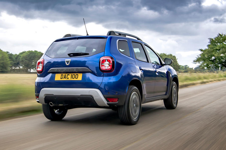 Dacia Duster Bi-Fuel 2020 UK first drive review - hero rear
