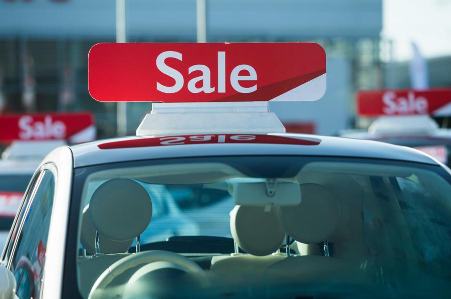 Dealer sale