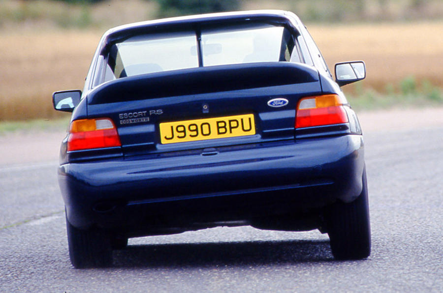 Ford Escort RS Cosworth - hero rear