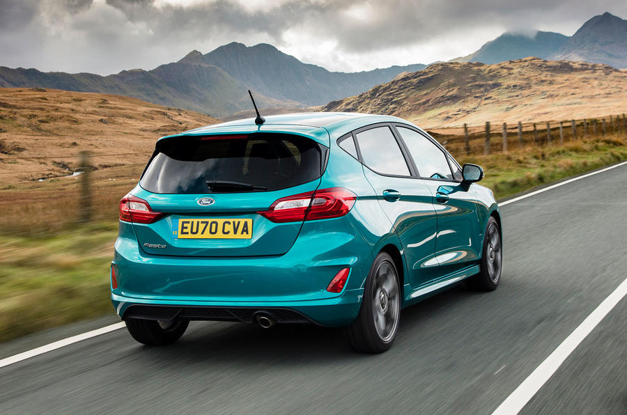 Autocar writers car of 2020 - Ford Fiesta rear
