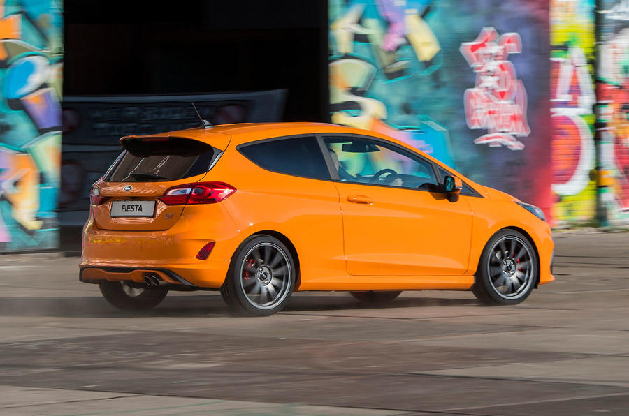Ford Fiesta ST Performance 2019 first drive review - hero rear