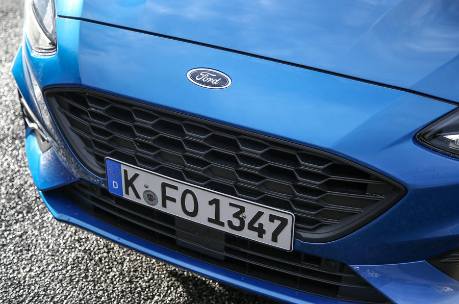 Ford Focus 2018 first drive review front bumper