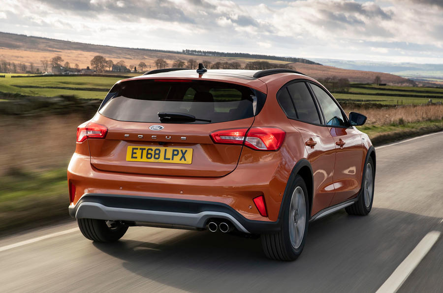 Ford Focus Active 2019 first drive review - hero rear