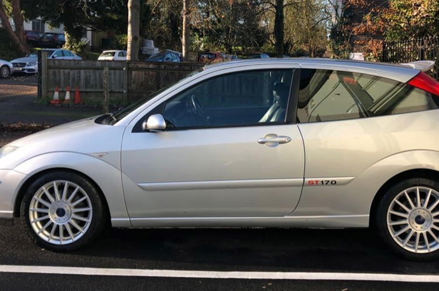 Ford Focus ST170 - static side