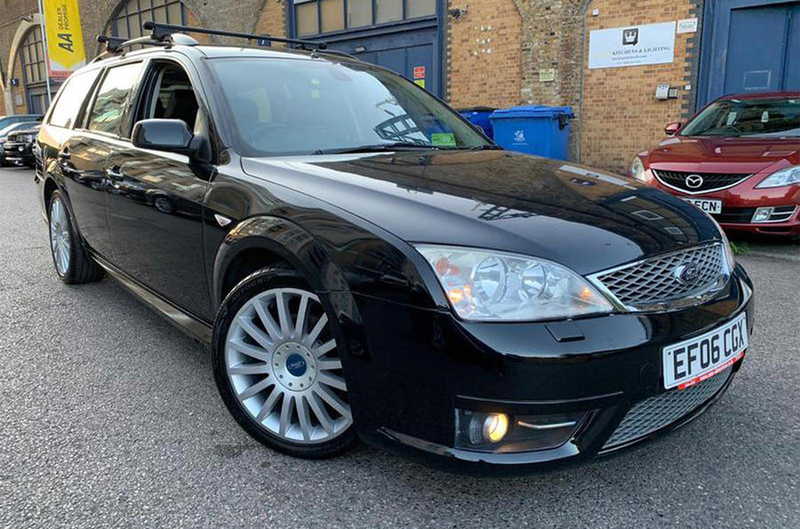 Ford Mondeo Estate ST - front