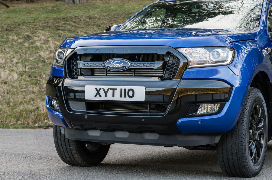 Ford Ranger Wildtrak X 2018 first drive review - front end