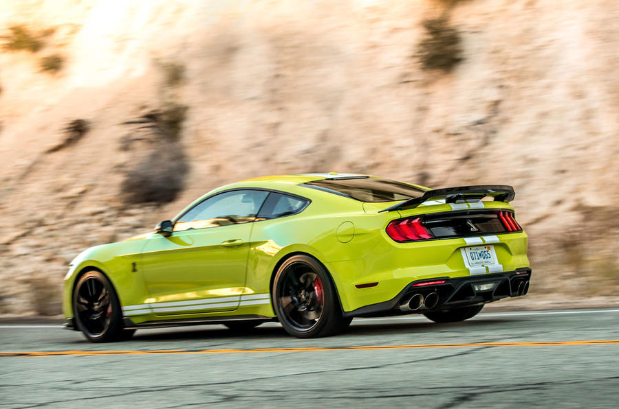 Ford Shelby Mustang GT500 2020 first drive review - hero rear