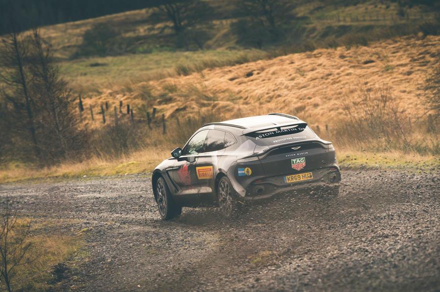 Game Changer 2020 Aston Martin DBX - slide rear