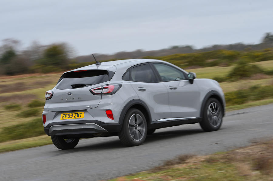 Game Changer 2020 Ford Puma - rear