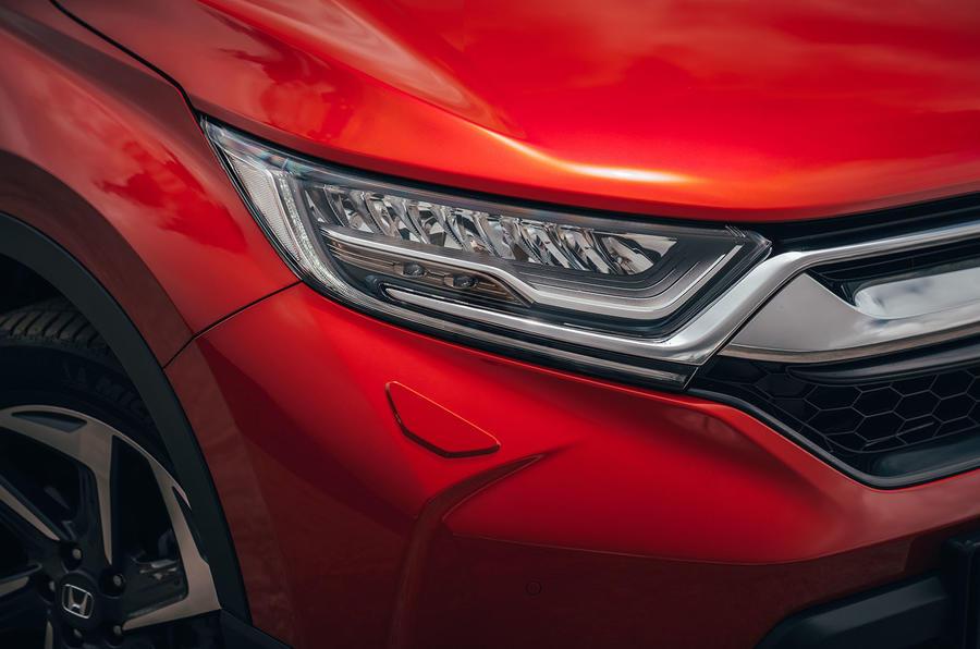 Honda CR-V 2018 first drive review headlights