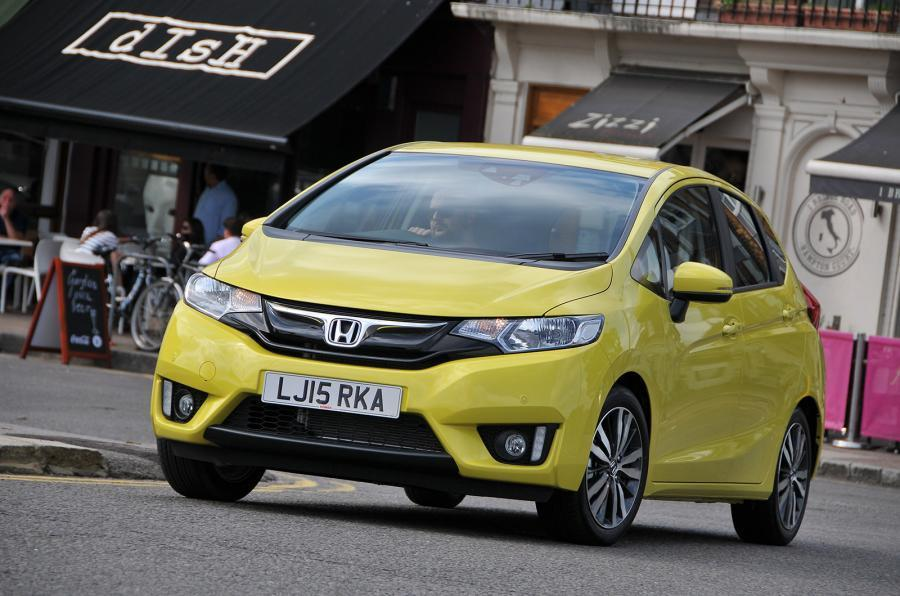 Honda Jazz 2015 - hero front