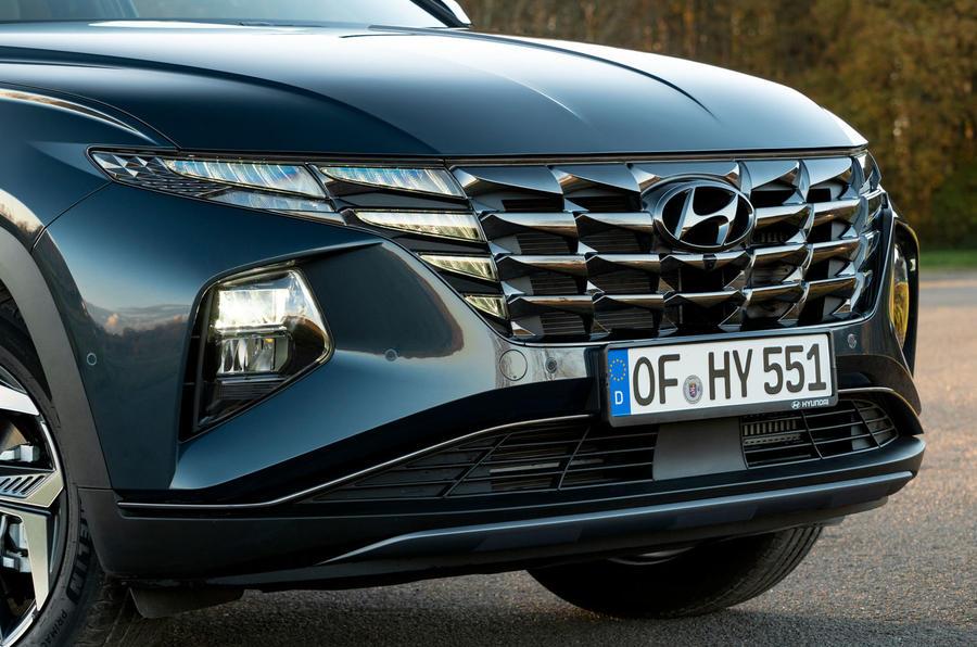 Hyundai Tucson 2020 UK first drive review - nose