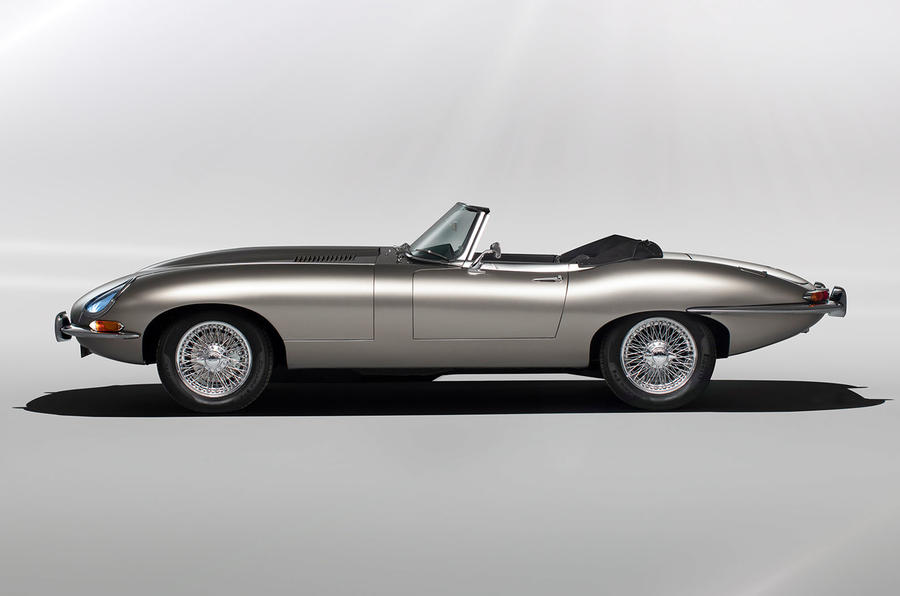Jaguar E-Type Zero concept - static side