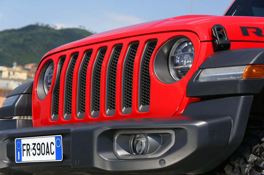Jeep Wrangler Rubicon 2dr 2018 first drive review grille