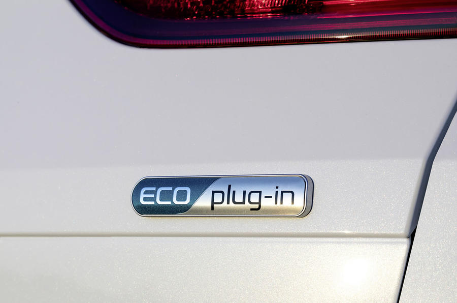 Kia Ceed Sportswagon PHEV 2020 first drive - rear badge