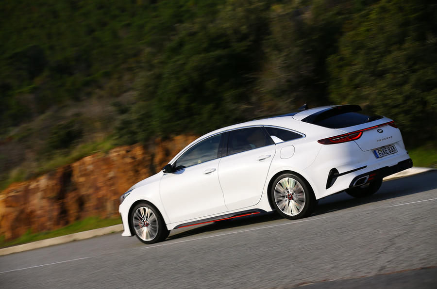 Kia Proceed 2019 first drive review - hero rear