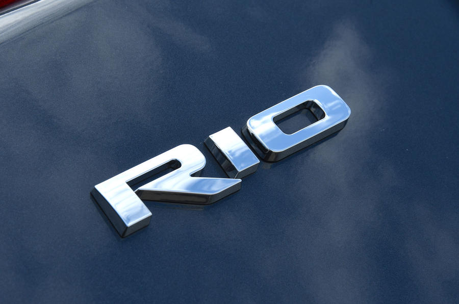 Kia Rio GT Line 2018 UK first drive review Rio badge