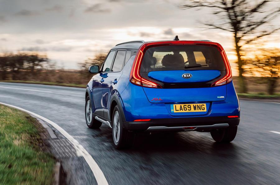 Kia Soul EV 2020 : premier bilan de la conduite au Royaume-Uni - le héros à l'arrière