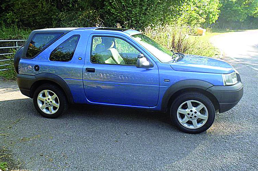 Land Rover Freelander - side