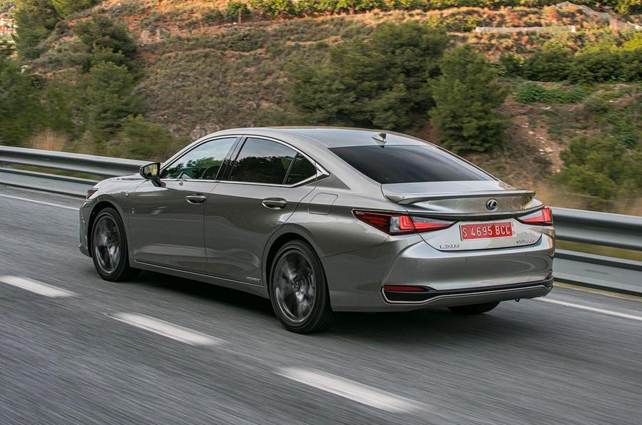 Lexus ES 2019 first drive review - hero rear