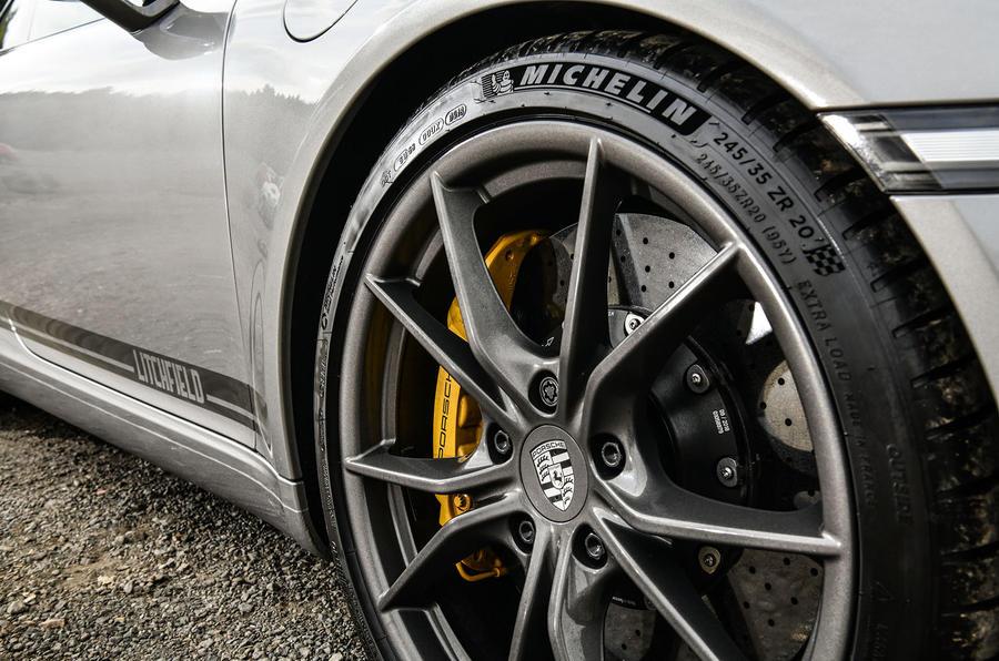 Litchfield Porsche 911 Carrera T 2018 first drive review - alloy wheels