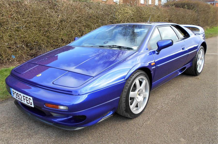 Lotus Esprit V8 Turbo - static front