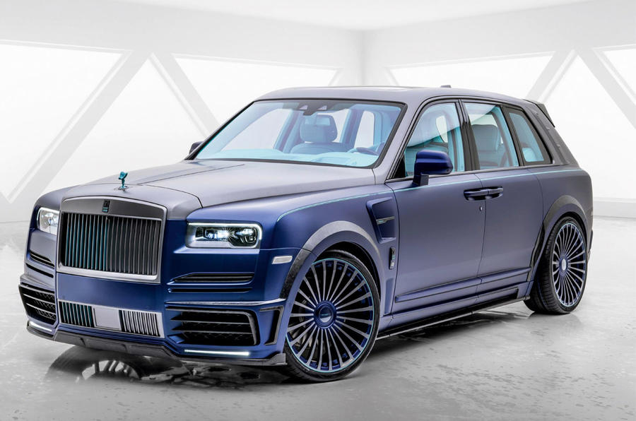 Mansory Rolls-Royce Cullinan Coastline 2020 - stationary front