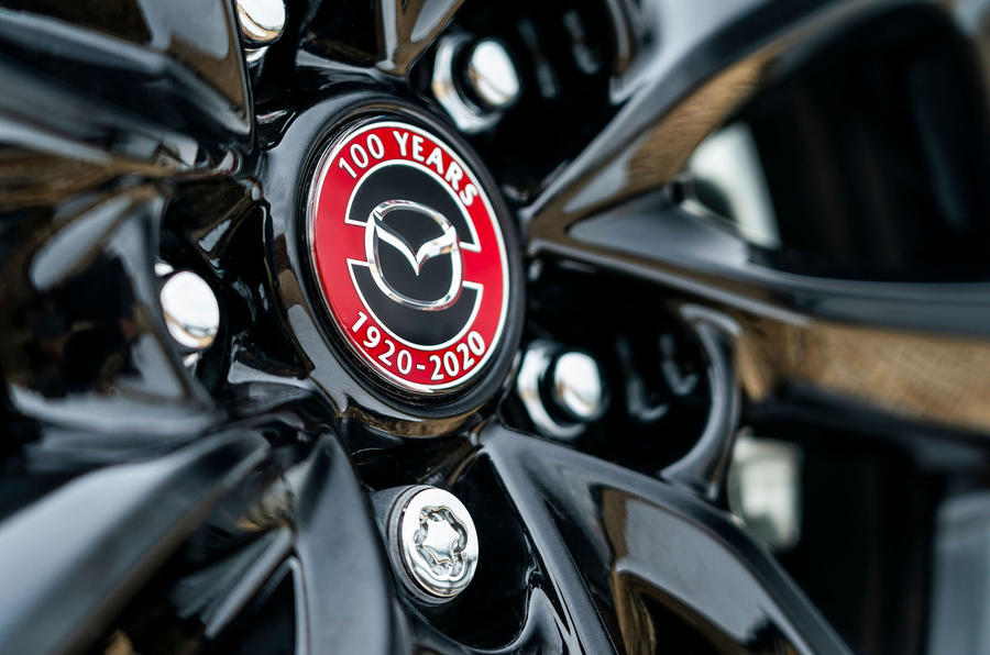 Mazda 3 100th Anniversary edition 2020 UK first drive review - alloy wheels