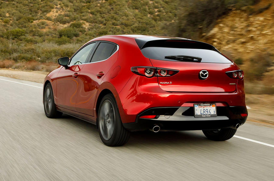 Mazda 3 2.0 Skyactiv-G 2019 first drive review - hero rear