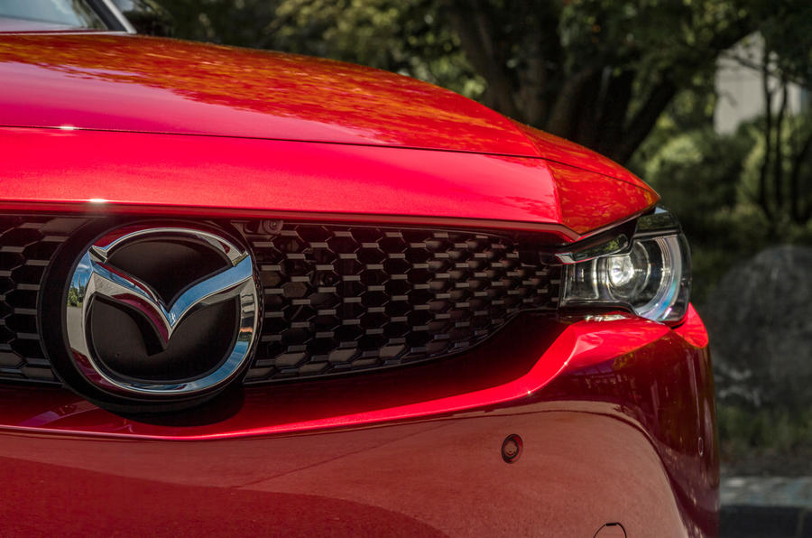 Mazda MX-30 2020 UK first drive review - headlights