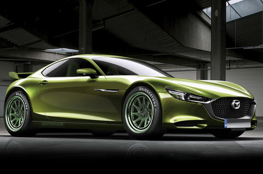 Mazda RX-9 render - static front