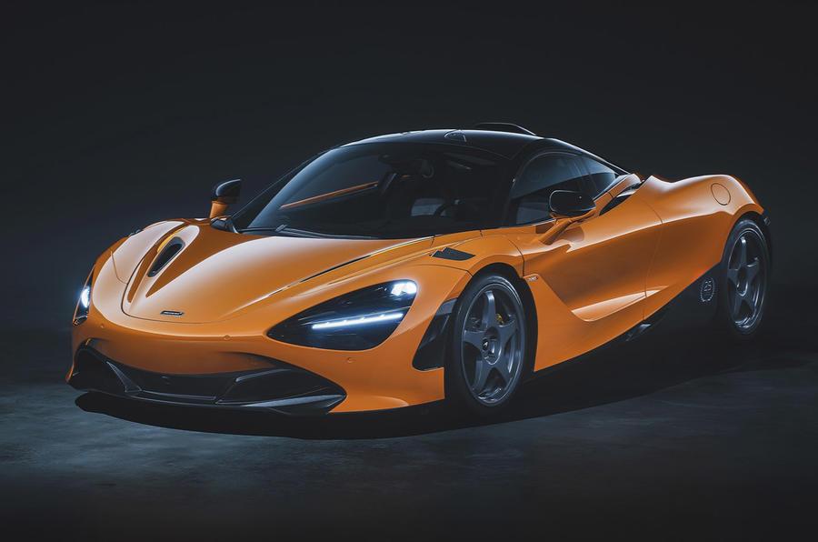 McLaren 720S - static front
