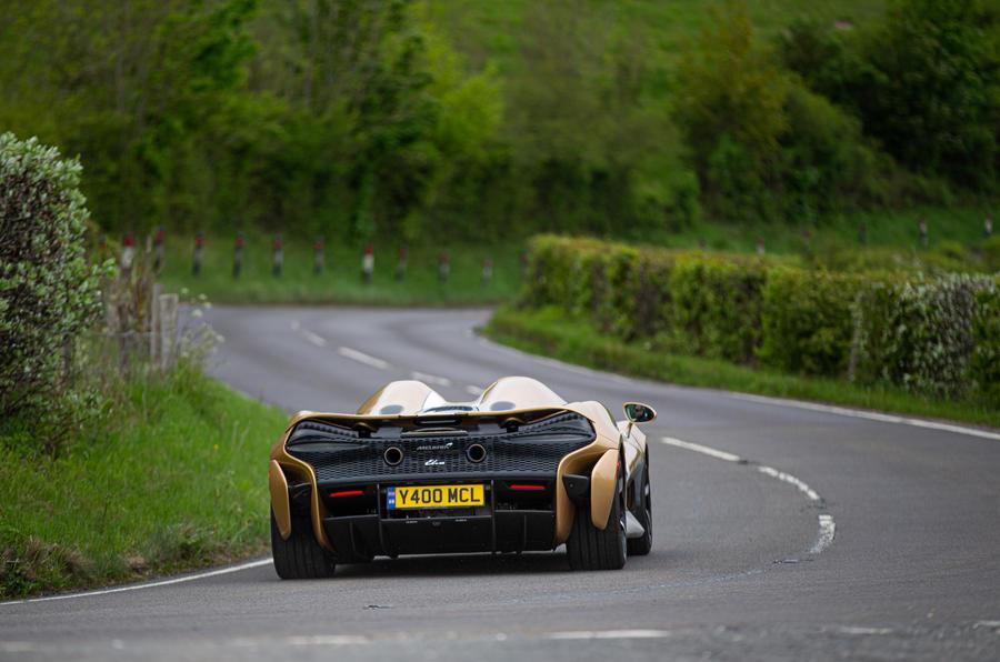 3 McLaren Elva 2021 UE FD héros arrière