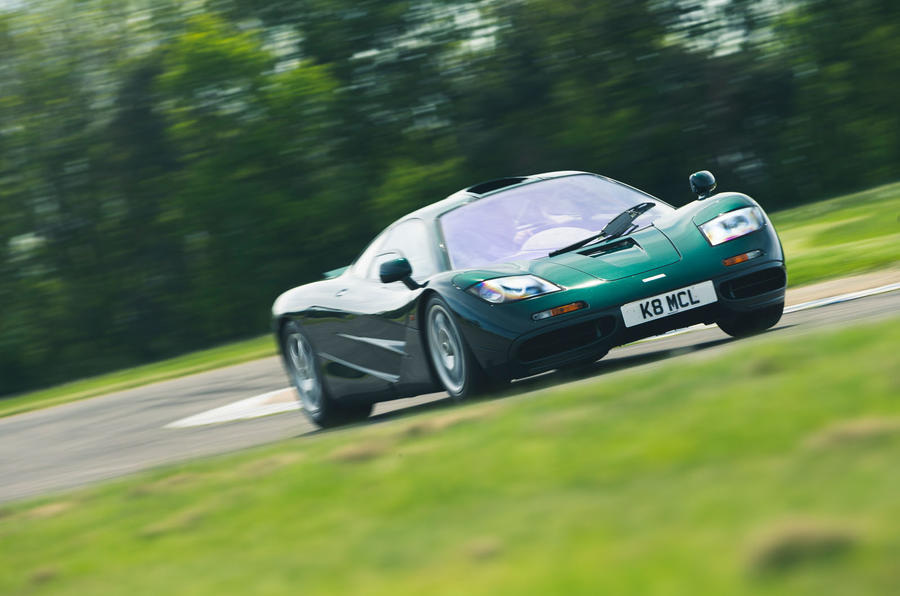 McLaren F1 named Readers' Champion - track