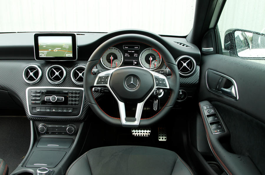Mercedes-Benz A-Class dashboard